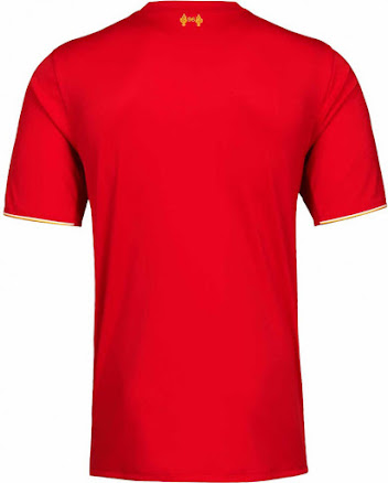 This is the new New Balance Liverpool 2015-2016 Home Football Shirt. 105e1345f