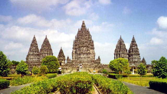 Prambanan Temple in Central Java