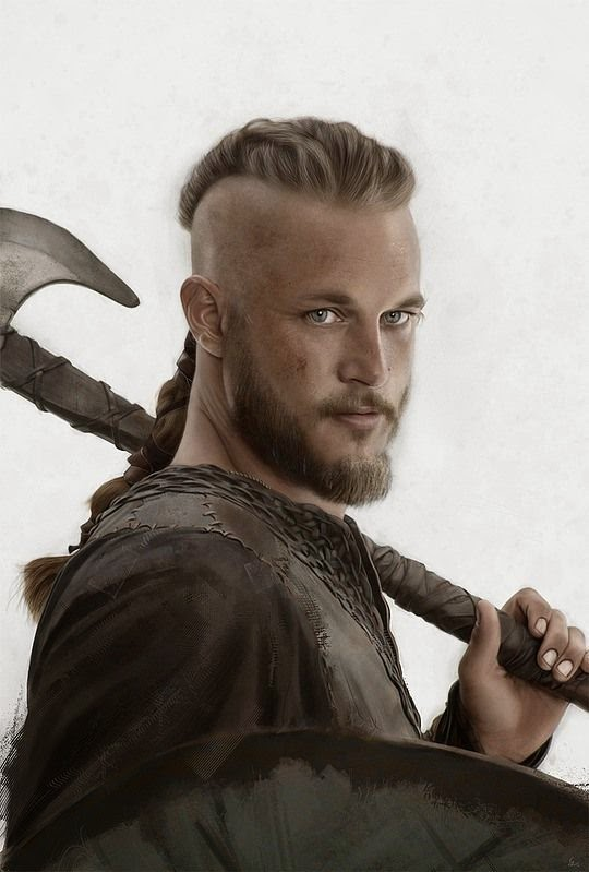 Arte hiperrealista y retoque digital   Vikingos