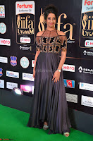 Sanjjanaa Galrani aka Archana Galrani in Maroon Gown beautiful Pics at IIFA Utsavam Awards 2017 16.JPG