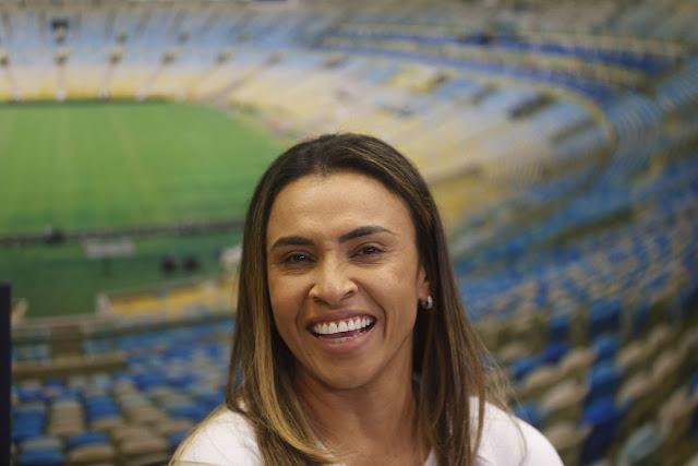 Jogadora Marta se torna defensora de metas das Nações Unidas