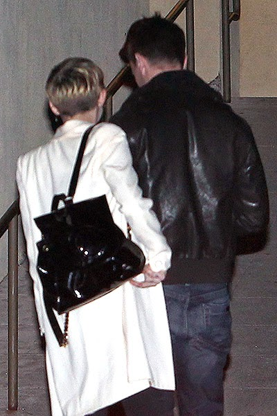 Miley Cyrus and Patrick Schwarzenegger went to the cinema