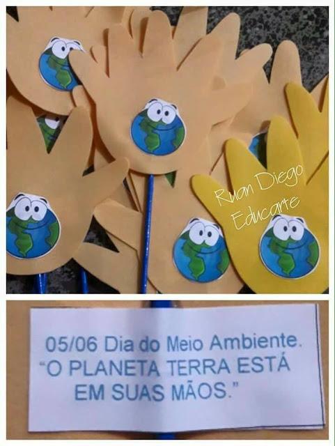 Ideias para o dia do meio ambiente.
