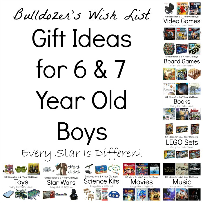 Gift Ideas for 6 and 7 Year Old Boys