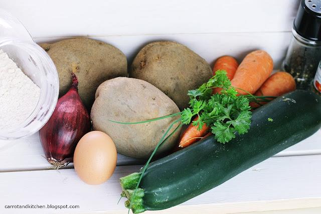 Placki warzywne