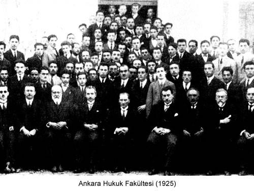 Atatürk Ankara Hukuk Fakültesi 1925 Fotoğraf