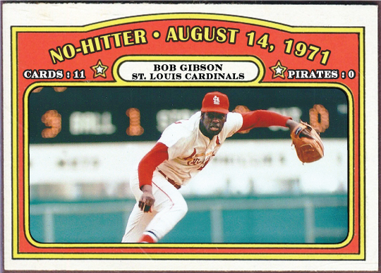 Image result for bob gibson no-hitter