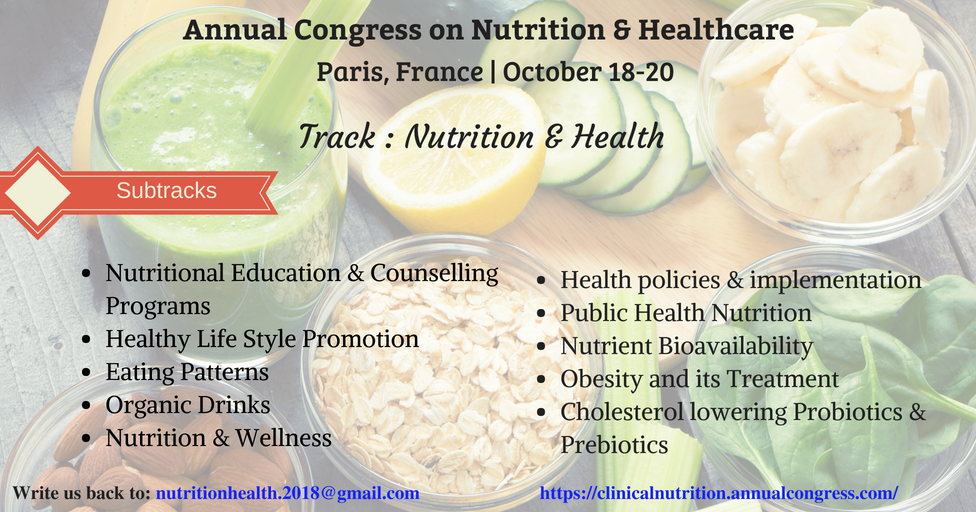 International Congress on Nutrition & Health