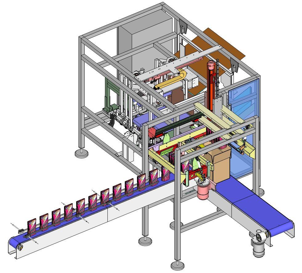 Siscodata robotics sis316 doypack dm formacartoni riempimento e chiusura carton former - Modulo chiusura automatica specchi retrovisori ...