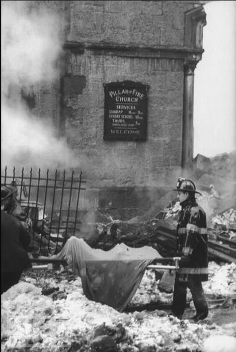 the park slope plane crash � rare photos from the 1960 new