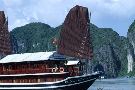 Aclass Opera cruise junk - Halong Bay tours in 2015