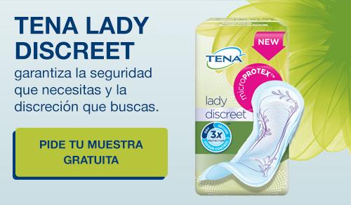 Tena Lady Discreet muestra gratuita