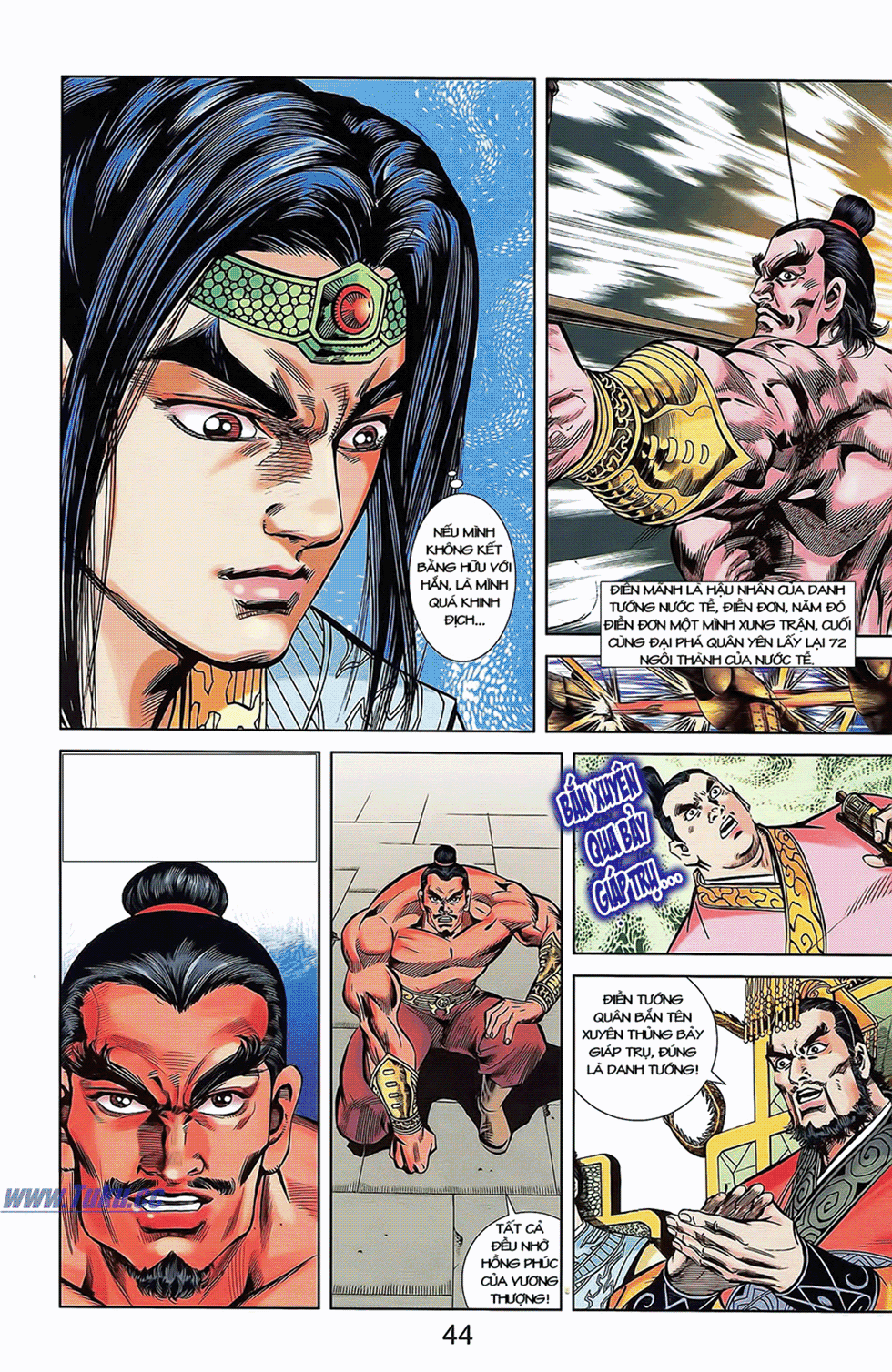 Tần Vương Doanh Chính chapter 7 trang 3