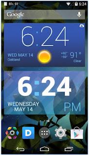 8 Aplikasi Widget Jam dan Kalender Android Terbaik dan Unik Ihsan Magazines