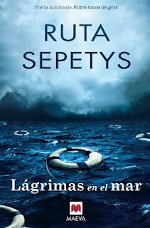"""""""Lágrimas en el mar"""" de Ruta Sepetys"""