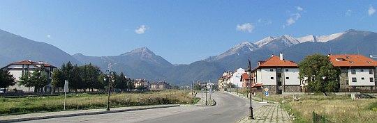 Góry Piryn z Banska.