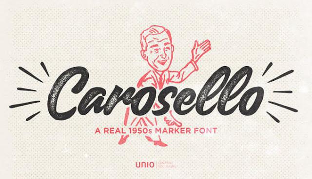 Günün Ücretsiz Fontu: Carosello
