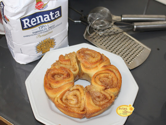 Cinnamon roll - Rosca Real
