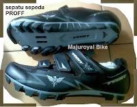 Jual Sepatu Sepeda Proff hitam