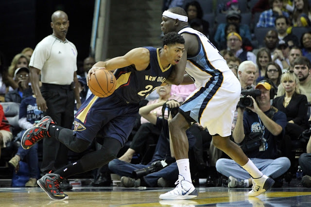 Anthony Davis & Zach Randolph
