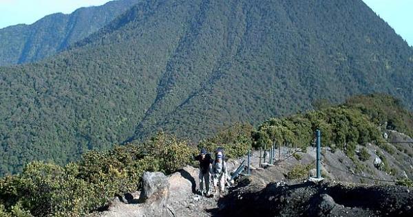 wisata alam bogor gunung gede pangrango