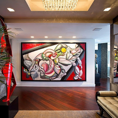 Design Contemporâneo Interior futurista Apartamento