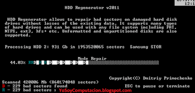 Hdd Regenerator Tutorial Completo