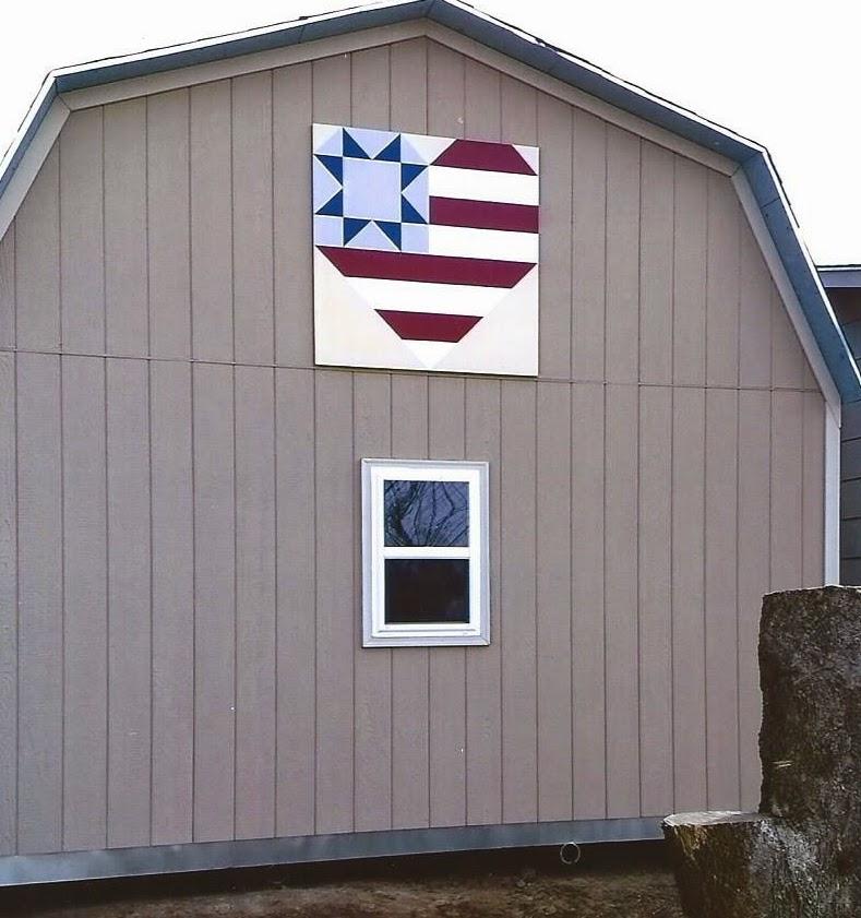 Kansas Flint Hills Quilt Trail Quilt Trail - Art barn a romantic green house by robert young connecticut usa