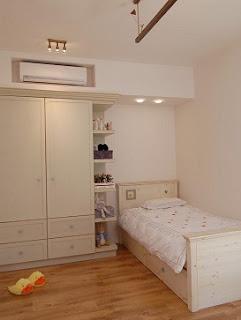Habitación pequeña adolescente