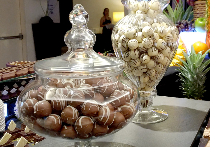 Durian and Mangosteen Pralines