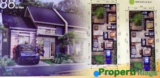 Denah-Cluster-Terrace-Hill-Residence-Tahap-2-Sentul-City-2-Up-Slope-tipe-88