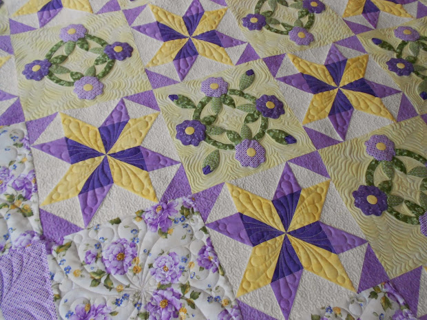 Stitching In Time Lilac Splendor Quilt