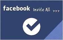 Facebook invite all extension for Google Chrome