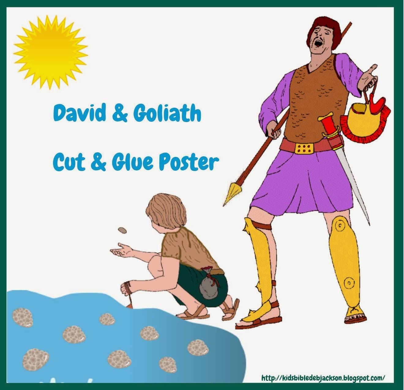 http://kidsbibledebjackson.blogspot.com/2014/02/david-and-goliath.html