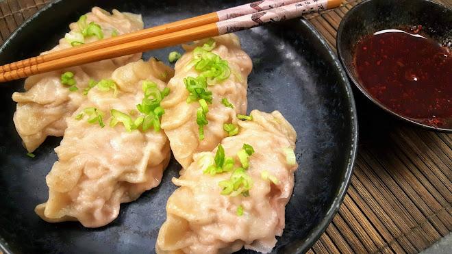 Pâte pour raviolis chinois ou Jiaozi, Wonton, Gyoza et Mandu