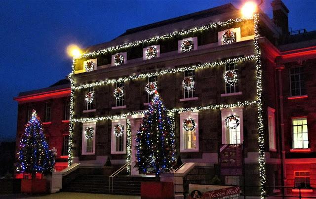 jouluvalot, tralee, museo, joulukuusi