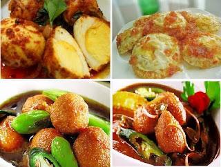 Kumpulan Resep Masakan Telur
