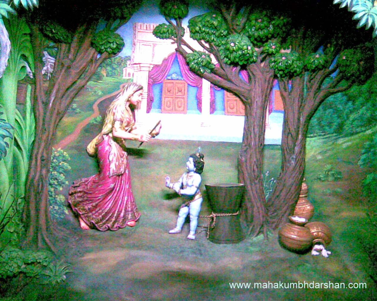mothers of lord krishna