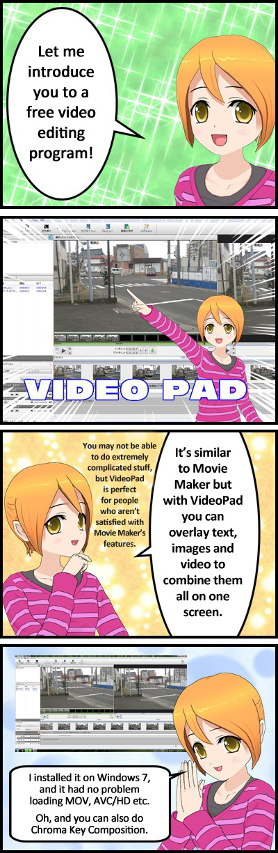 VideoPad is perfect for anyone not satisfied with Movie Maker
