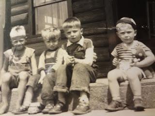 Four Grant Boys