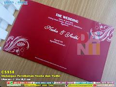 Undangan Pernikahan Nesha Dan Yudhi