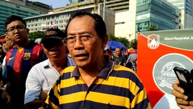 Image result for Sri Bintang Pamungkas di kawasan Car Free Day (CFD), Bundaran Hotel Indonesia,
