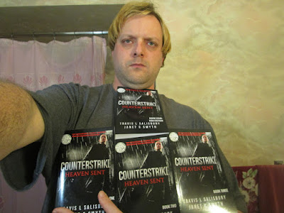 Travis L Salisbury With Counterstrike Minibooks-A-June 02 2017