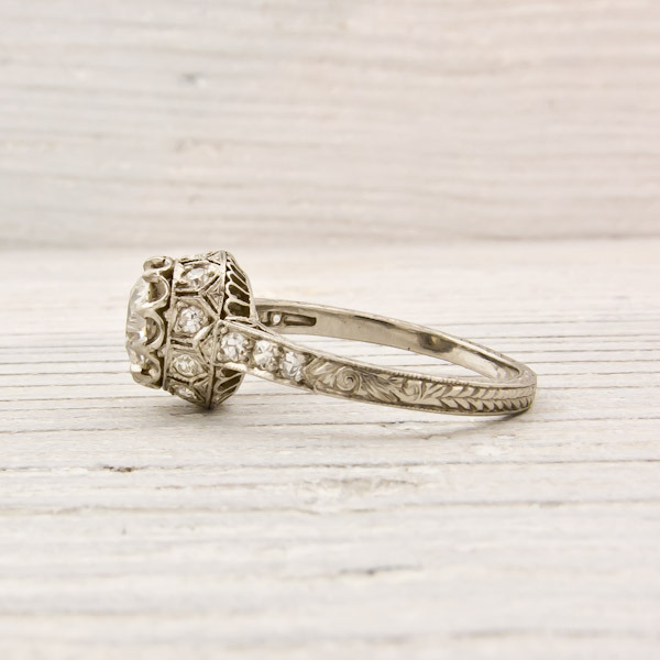 Erstwhile Jewelry Antique Engagement Ring 6239 - {Frosted Find}  Erstwhile Jewelry