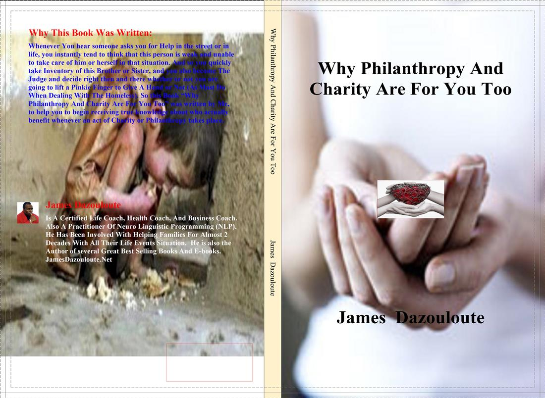 BOOK - Why Philanthropy And Charity Are For You Too