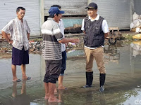 Beginilah Cara Gus Ipul Atasi Banjir Gresik dengan Menyiapkan 2 Skala Prioritas