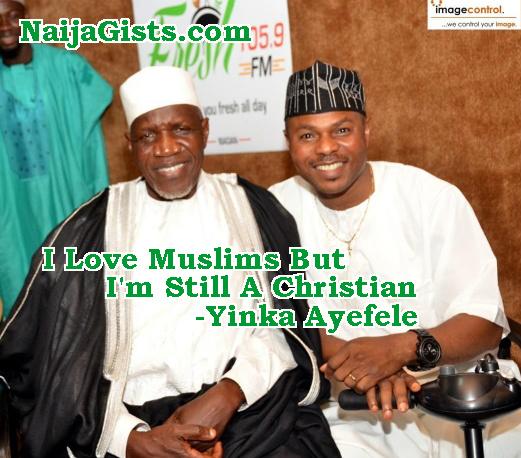 yinka ayefele converts to muslim