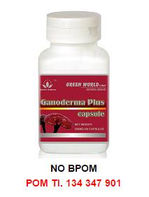 Obat Herbal Ganoderma Plus - Green World