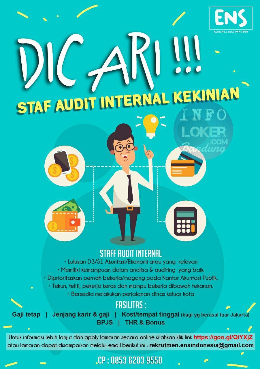 Lowongan Kerja Audit Internal ENS Indonesia