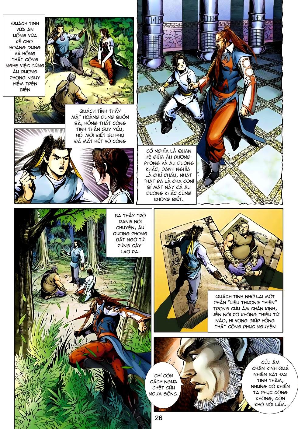 Anh Hùng Xạ Điêu anh hùng xạ đêu chap 54: kiếp hậu dư sinh thiến nữ kỳ mưu trang 26